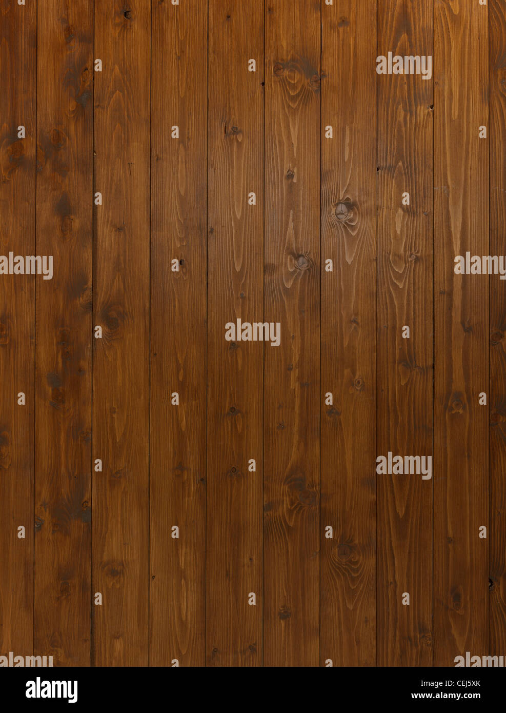 Dark Wood Panel Background With Shaft Of Light Illuminating Middle Section