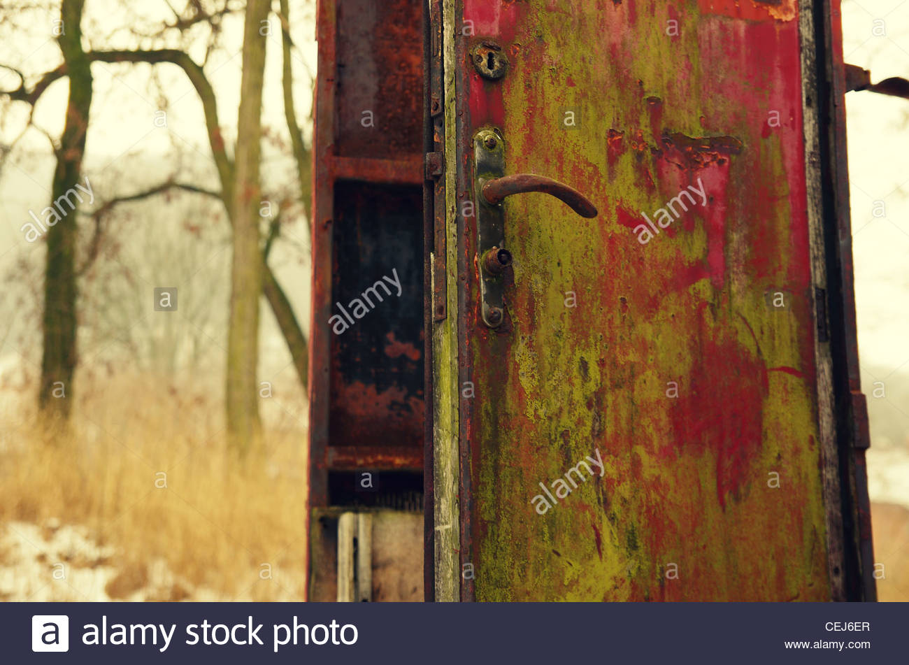 Doors to Nowhere - Stock Image