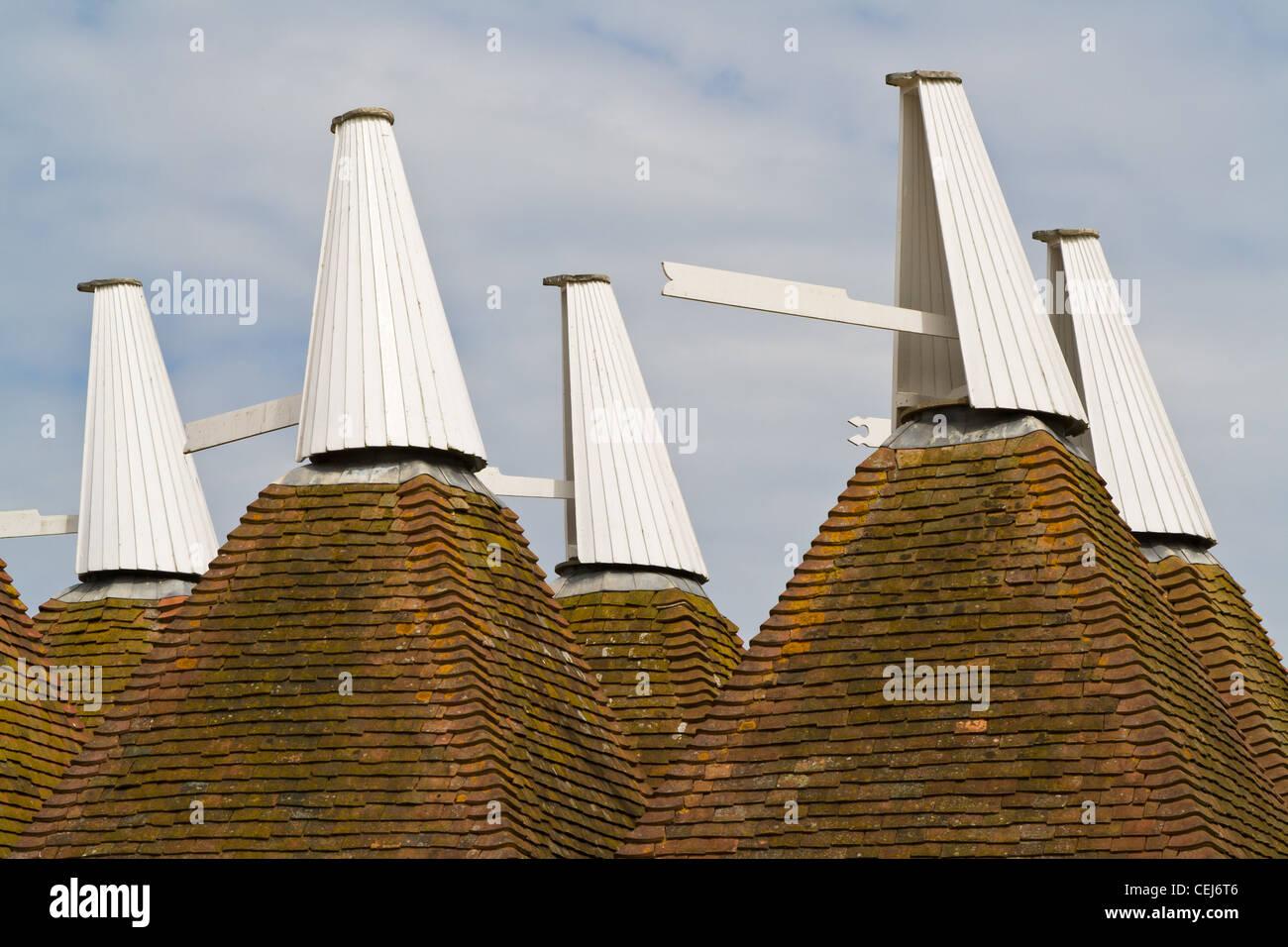 Kentish oast house roof - Stock Image