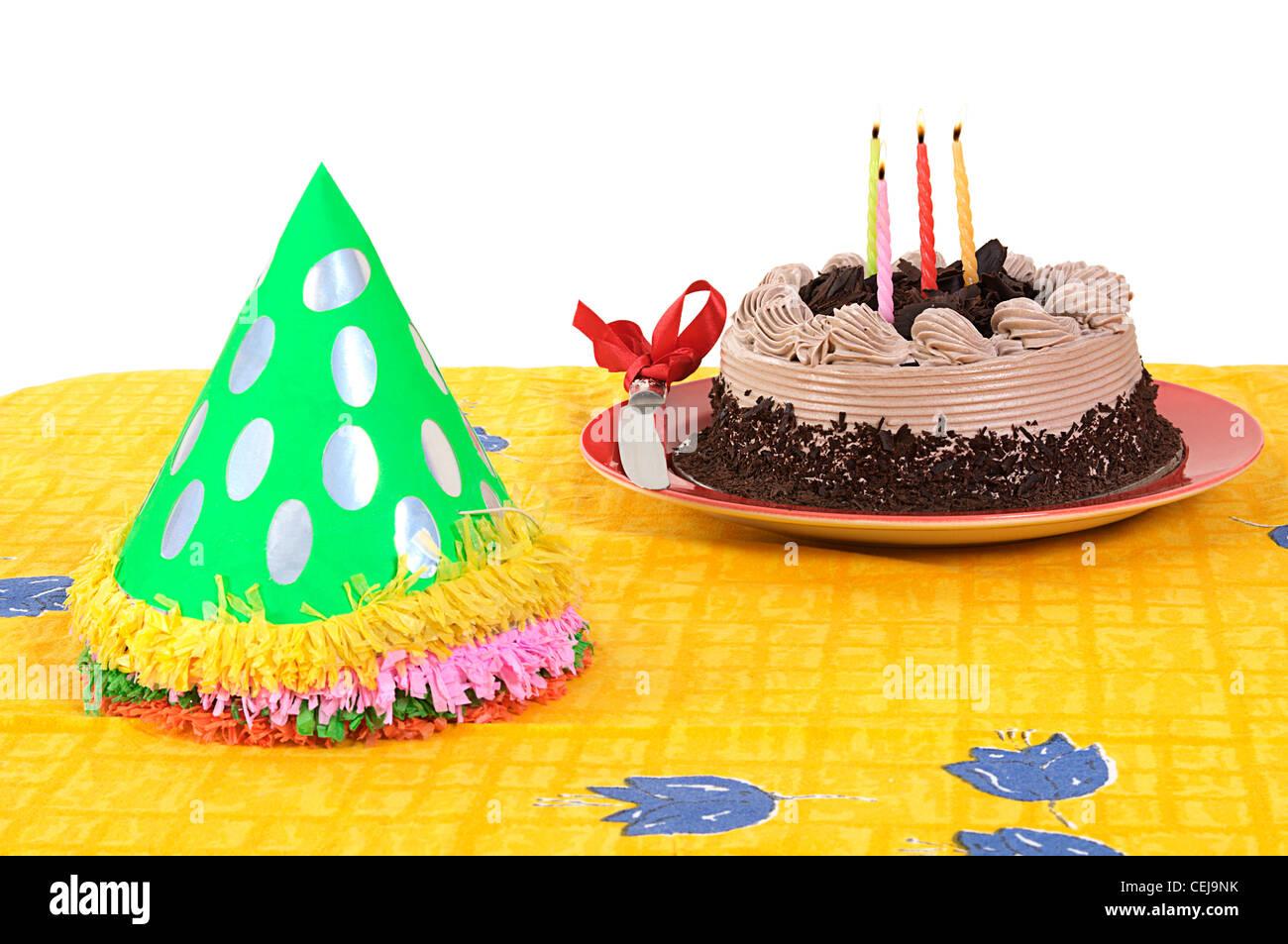 birthday celebrations - Stock Image