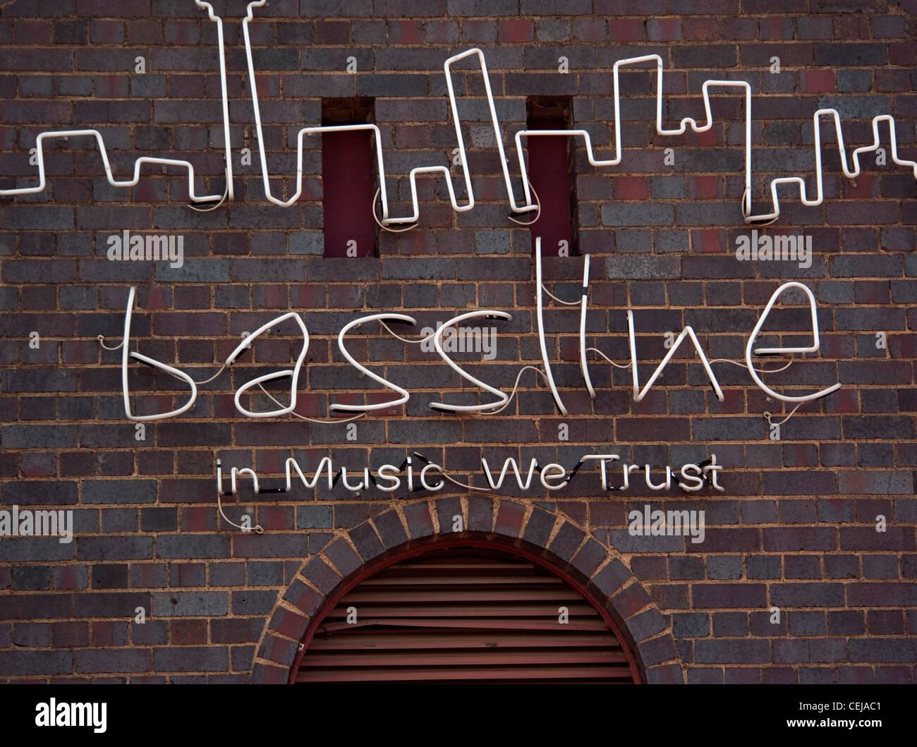 Bassline music venue and club,Newtown,Johannesburg,Gauteng - Stock Image