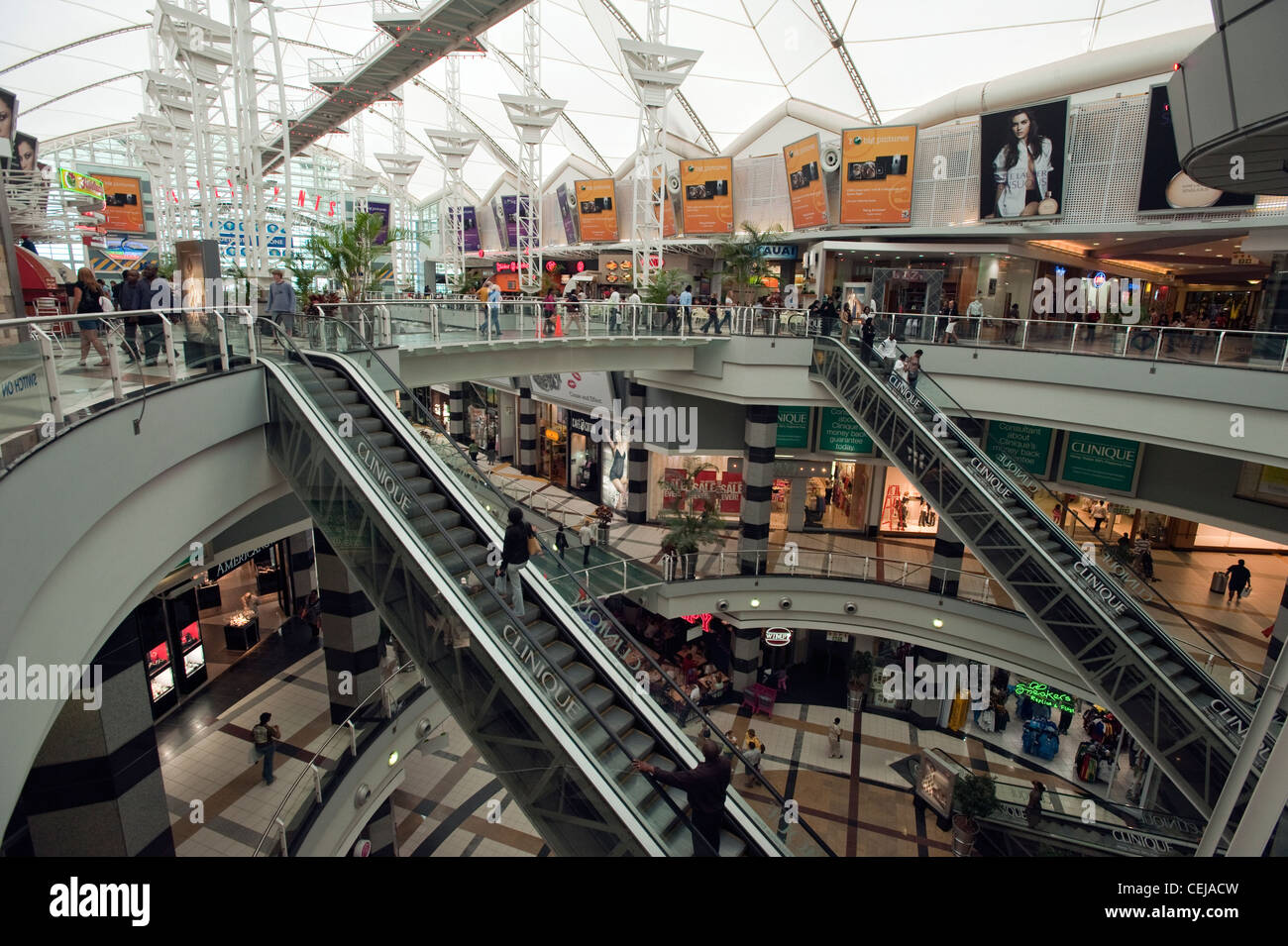 The Zone shopping Centre,Rosebank,Johannesburg,Gauteng - Stock Image