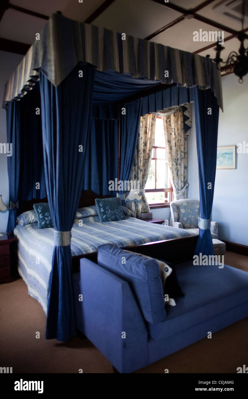 Guest House Interior of Room,Morningside,Durban - Stock Image