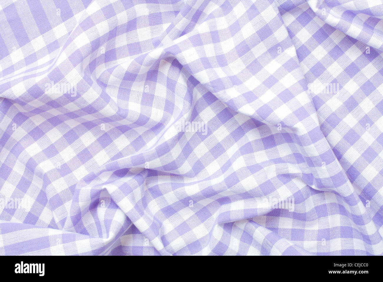 Draped cloth - Stock Image