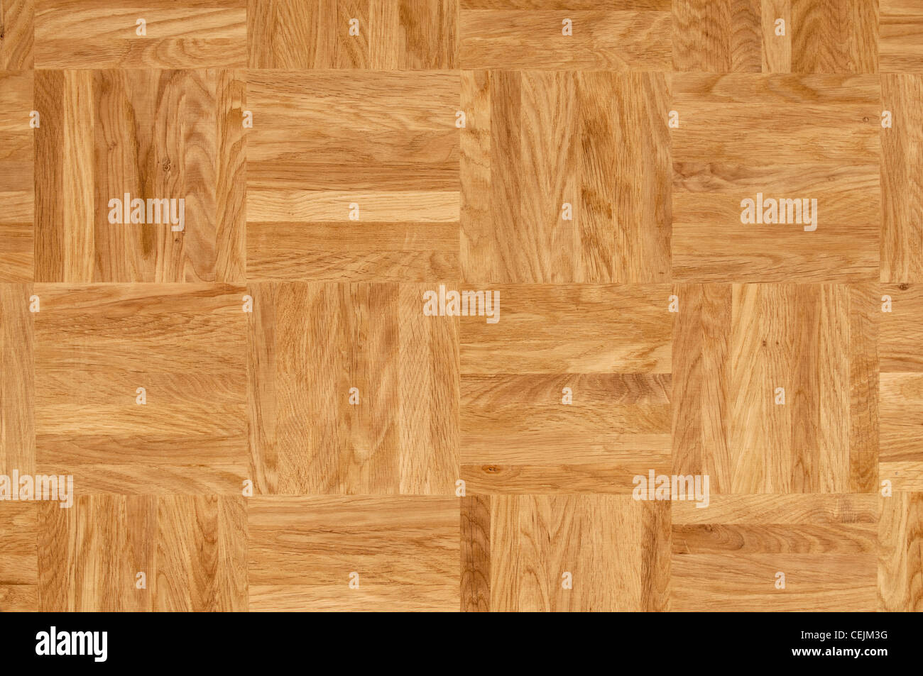 Wood texture - parquet floor made of the natural oak wood. - Stock Image