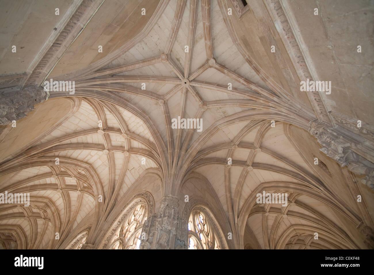 Designed architect Juan Guas Franciscan monastery built 1477 1504 order Catholic Monarchs Ferdinand II Isabella Stock Photo