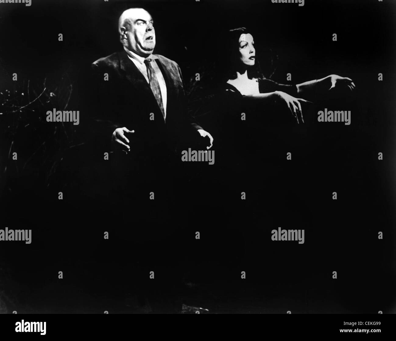 PLAN 9 FROM OUTER SPACE (1959) TOR JOHNSON VAMPIRA EDWARD D. WOOD JR. (DIR) 007 MOVIESTORE COLLECTION LTD - Stock Image