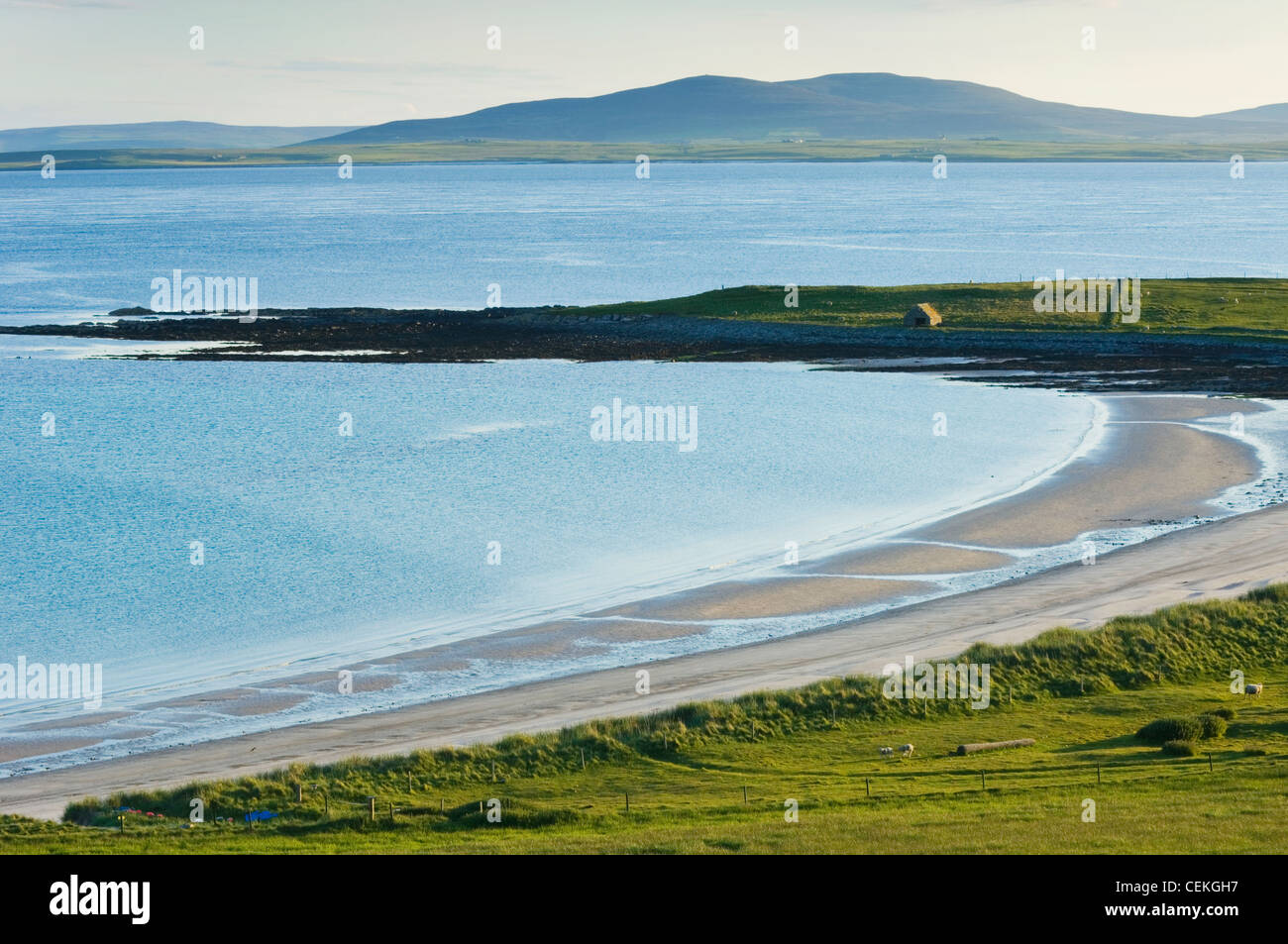 Sealskerry Bay on the island of Eday, Orkney Islands, Scotland. - Stock Image