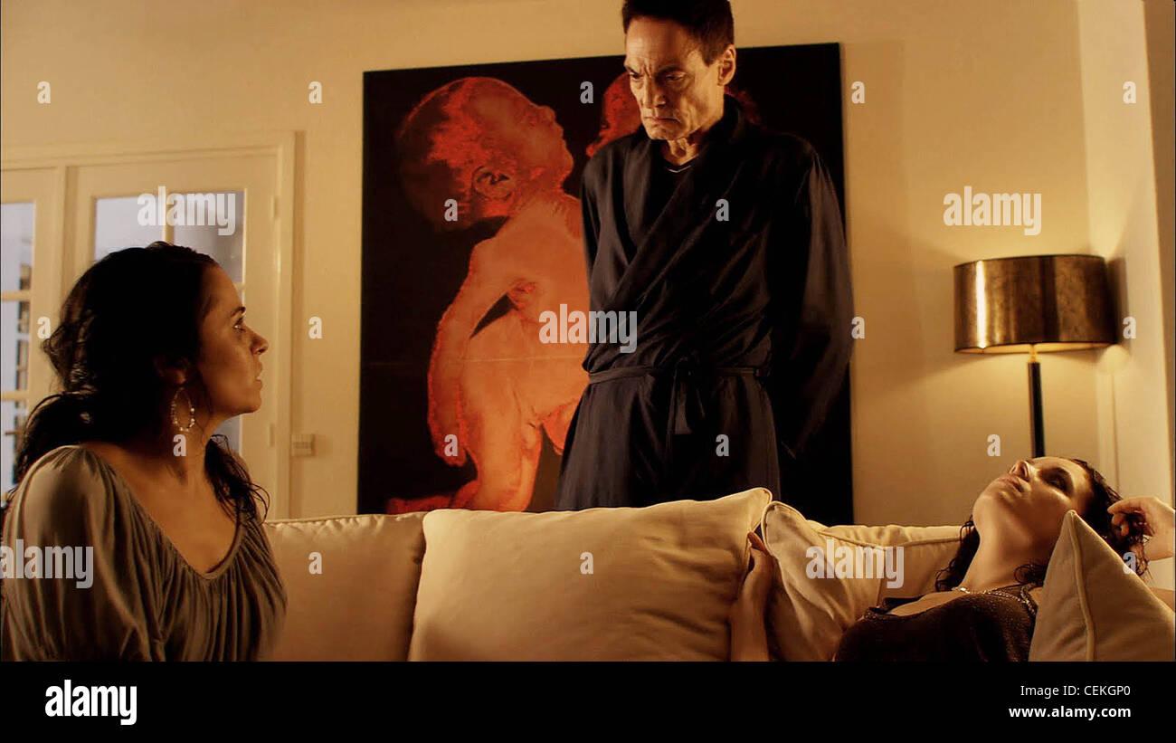 THE HUMAN CENTIPEDE (2009) ASHLEY C. WILLIAMS, DIETER LASER, ASHLYNN YENNIE TOM SIX (DIR) 007 MOVIESTORE COLLECTION - Stock Image