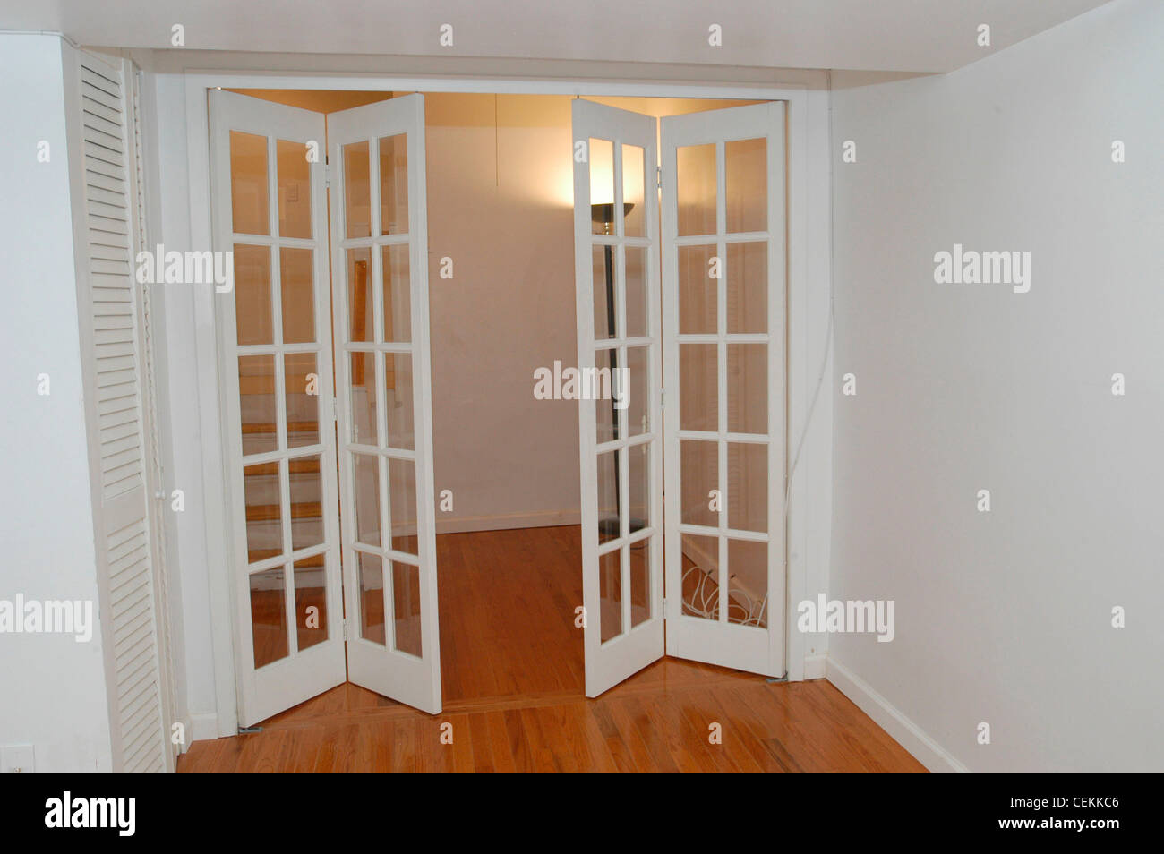 Interior Doors Of An Apartment For Sale In New York On May 27, 2004 (