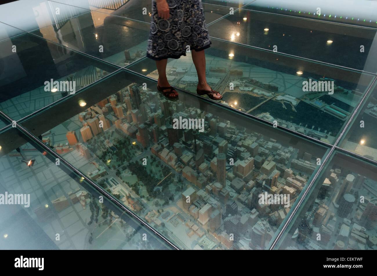The 1500 Scale Model Of Sydney Under Glass Floor Customs House Australia