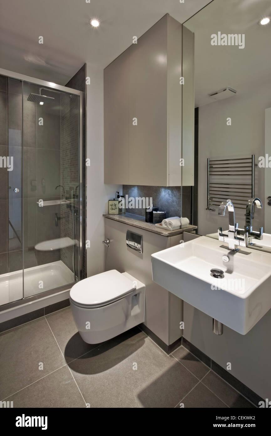 Chiswick Lodge luxury housing - Stock Image