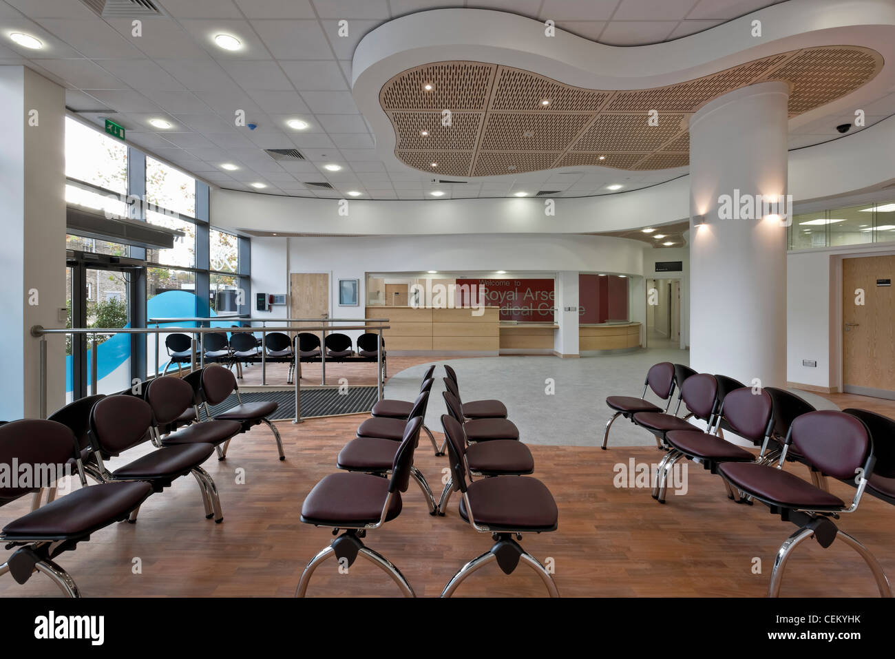 Royal Arsenal Medical Centre in Woolwich - Stock Image