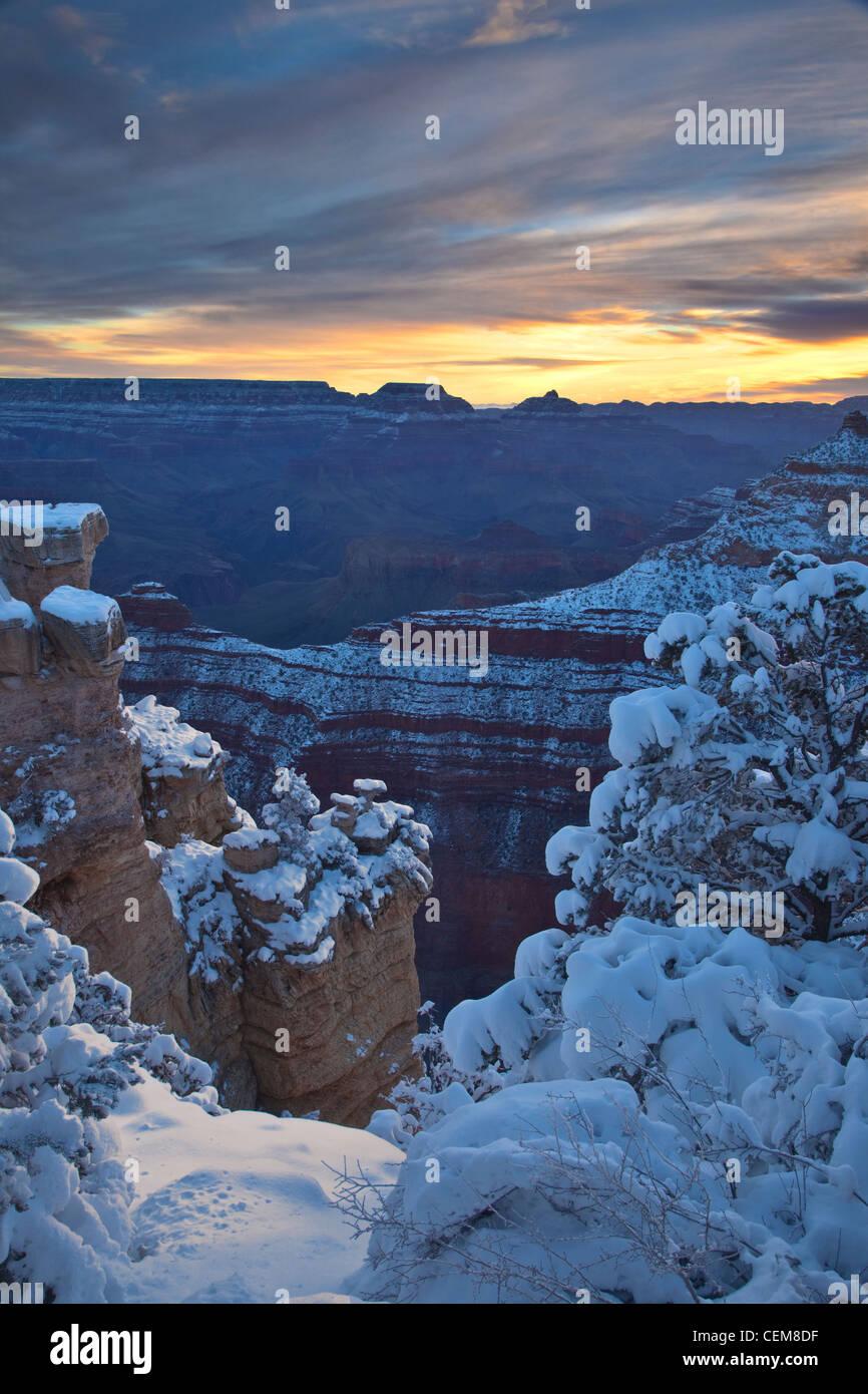 Grand Canyon Snow Weather Stock Photos Grand Canyon Snow