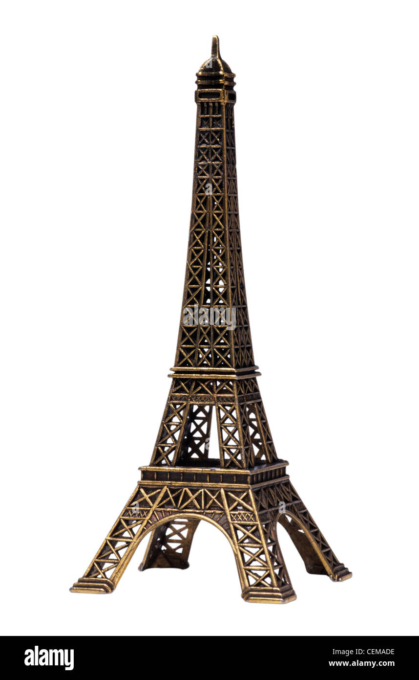Eiffel Tower in Paris - Stock Image