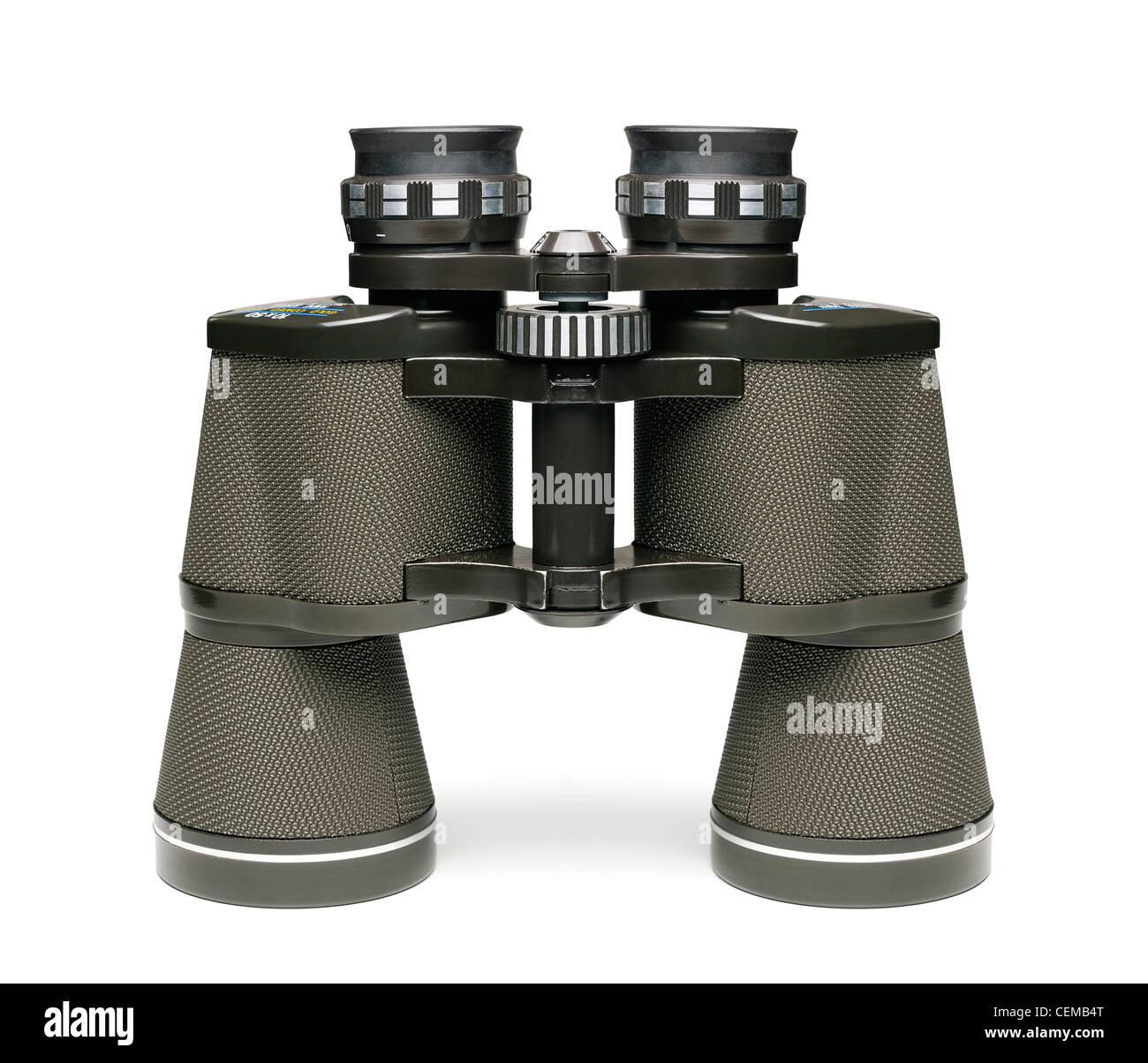 Binoculars, Cut Out. - Stock Image