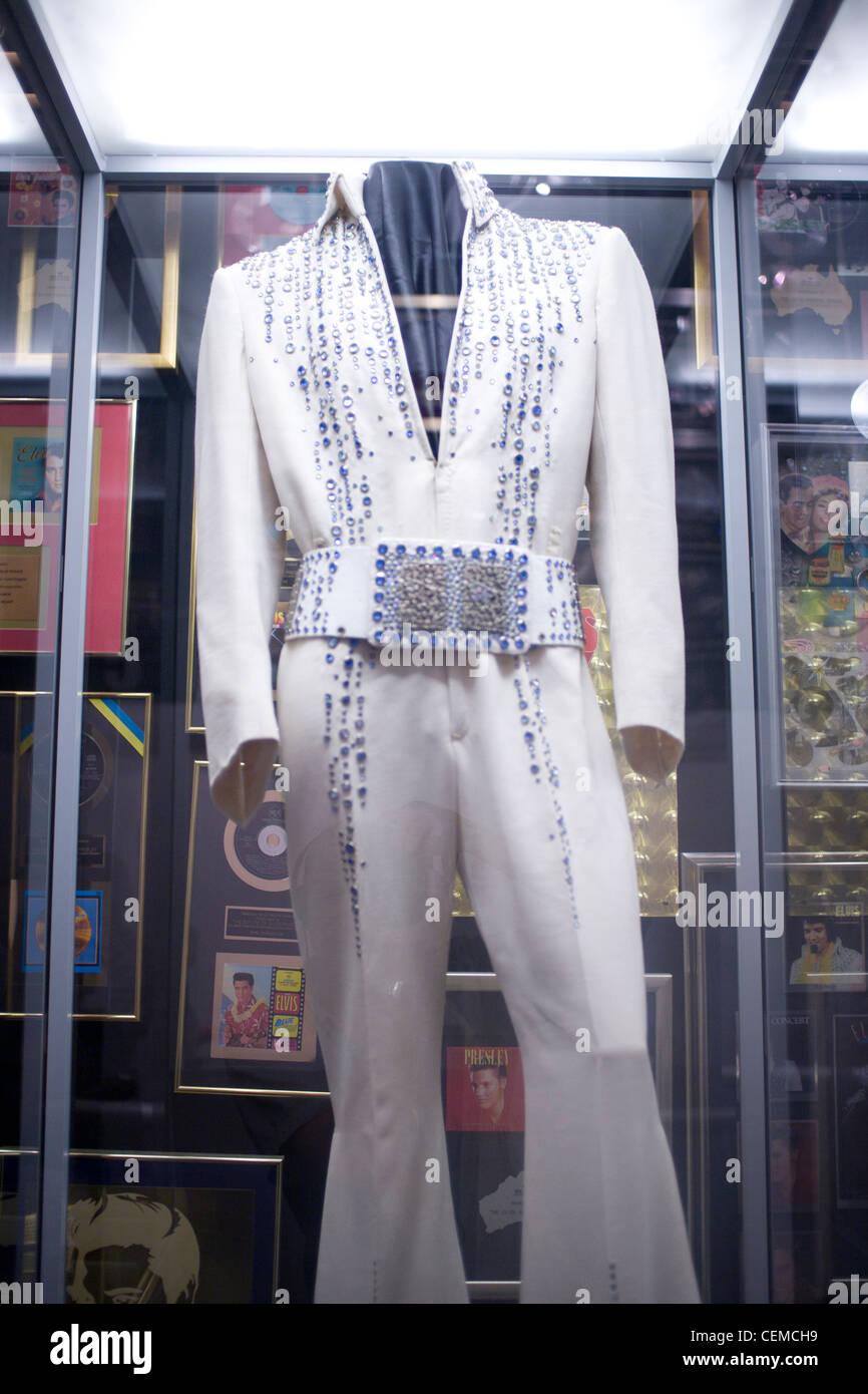 Elvis Presley's Graceland home, interiors and belongings - Stock Image
