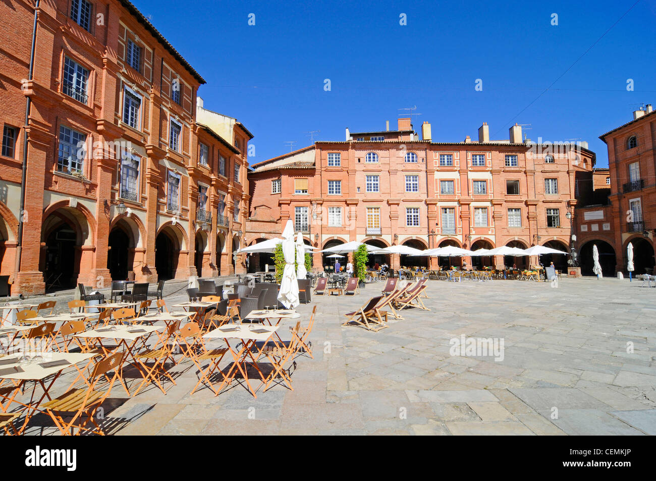 Place Nationale / Montauban - Stock Image