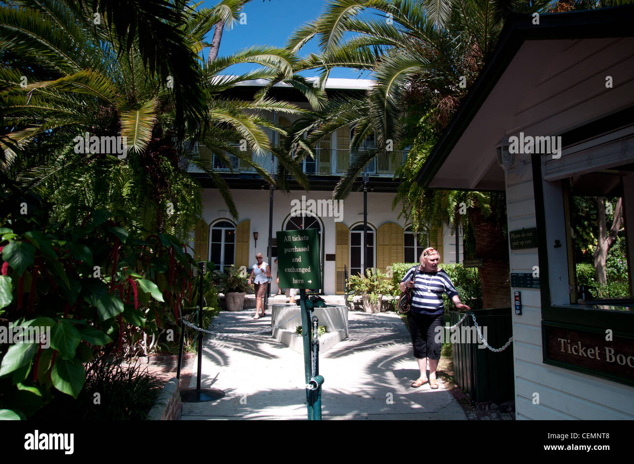 Ernest Hemingway home and museum Stock Photo