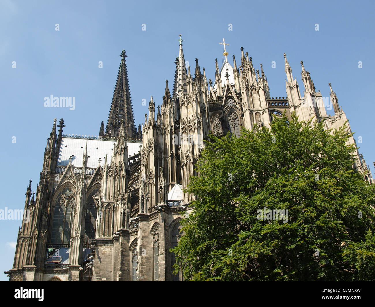 Koelner Dom (Cologne Cathedral) in Koeln, Germany Stock Photo