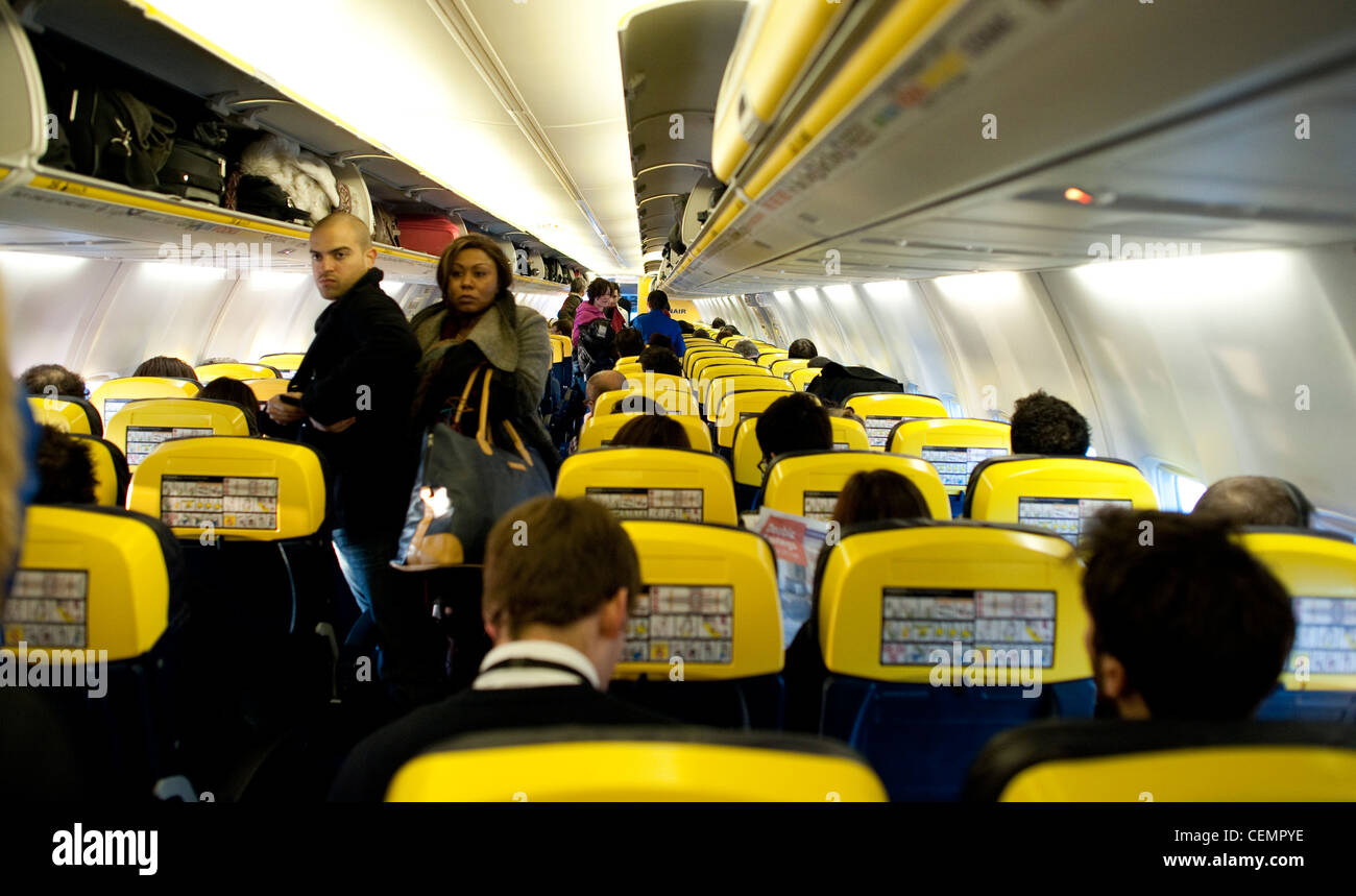 Ryanair announce record profits - despite predicted loss. - Stock Image