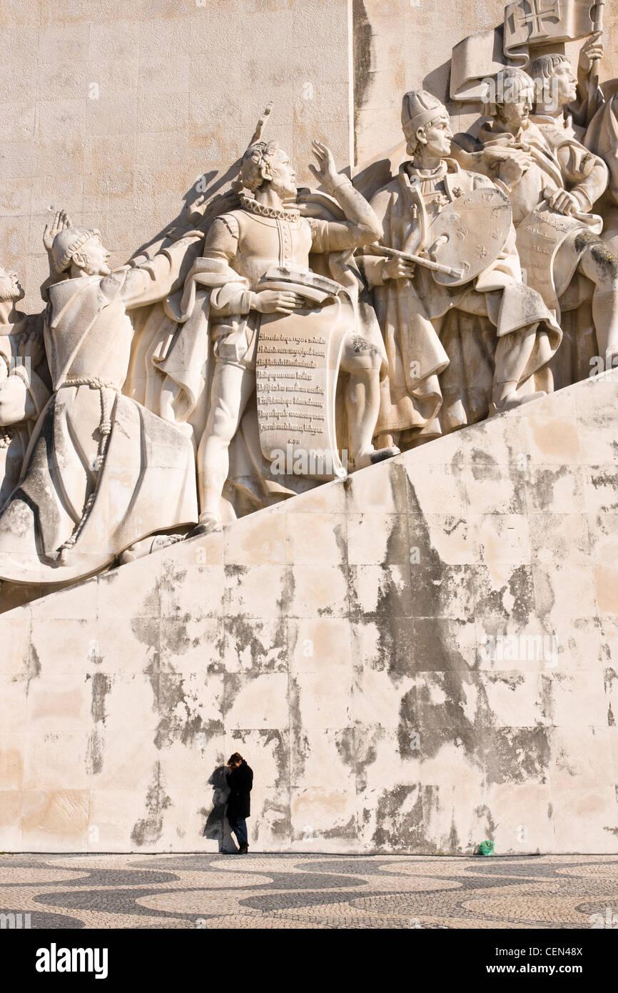 Padrão dos Descobrimentos (Monument to the Discoveries), Lisbon, Portugal. - Stock Image