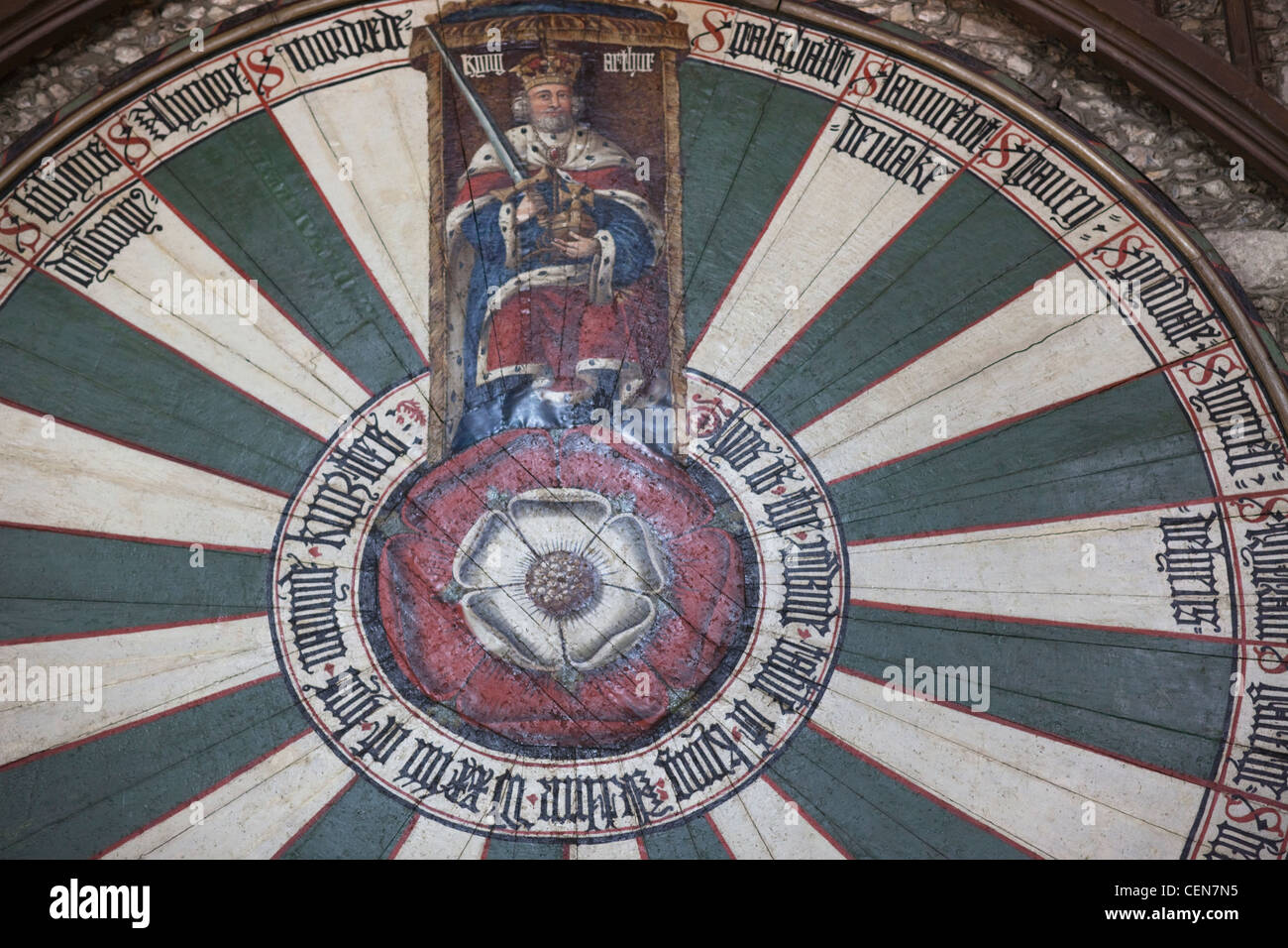 Winchester round table stock photos winchester round table stock images alamy - Round table winchester cathedral ...
