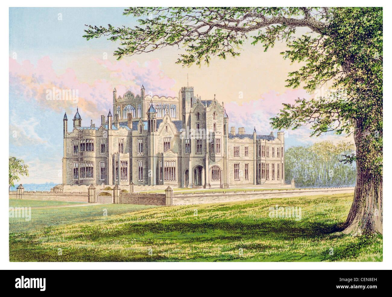 Stourton Castle Staffordshire England King Henry II Medieval Hunting Lodge