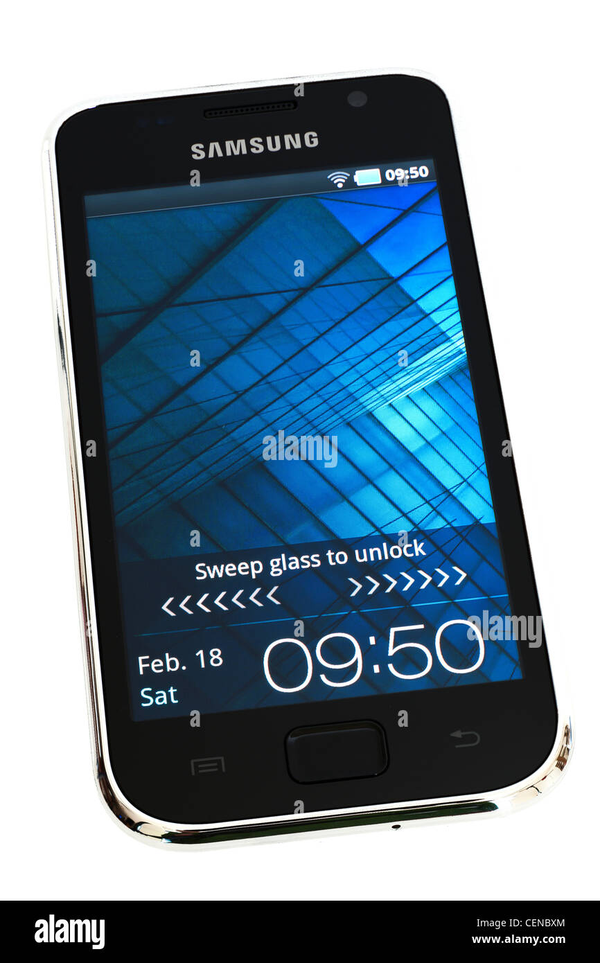 Samsung Galaxy S 4.0 YP-G1CW wi-fi media player with Android Froyo 2.2 OS - Stock Image