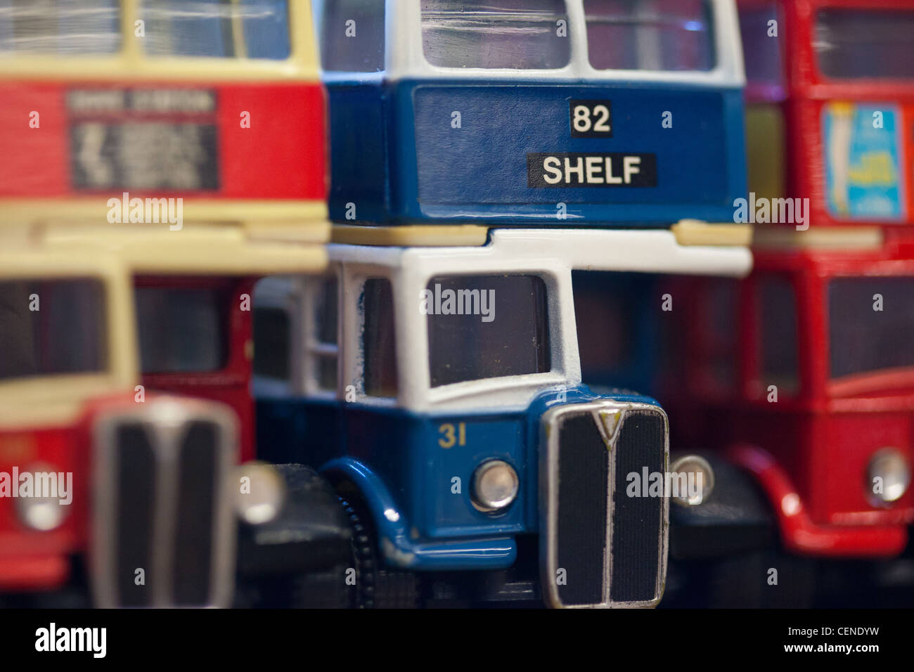 Collection Model Vintage Buses Sale Stock Photos