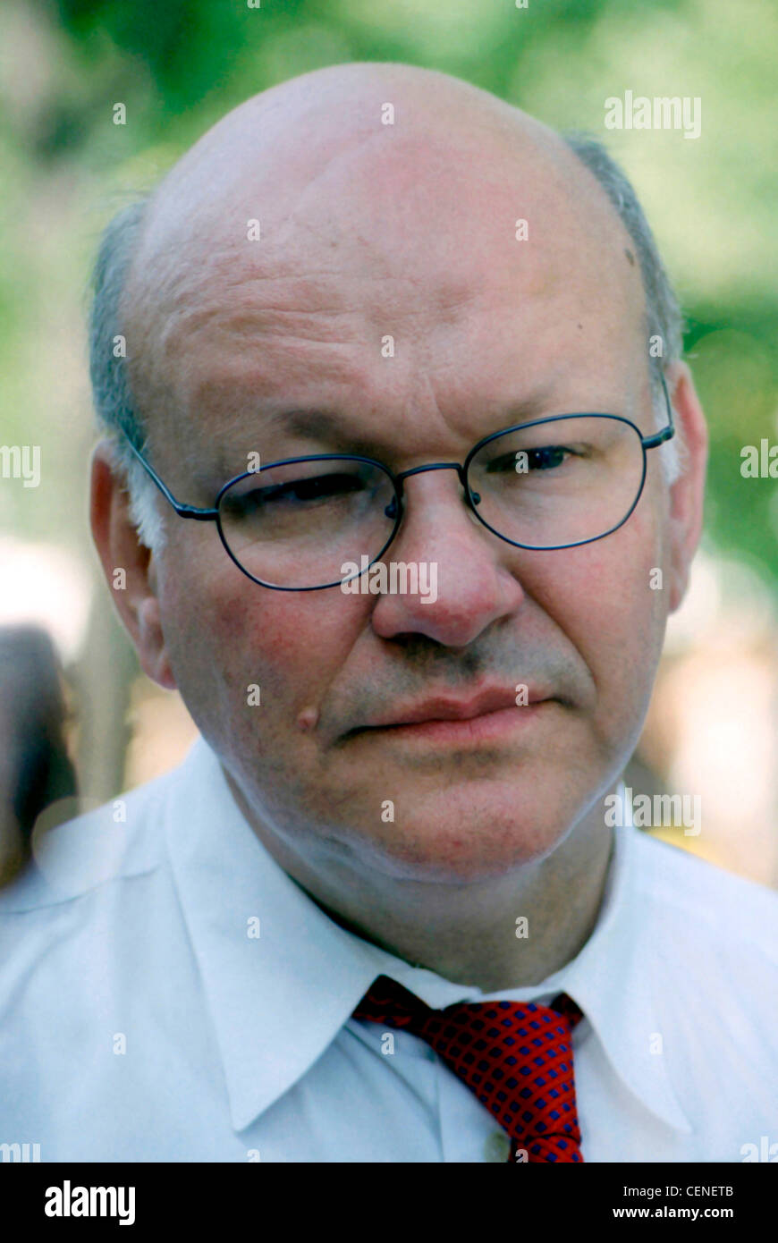 Walter Momper - *21.02.1945: Portrait of the social-democratic politician and Mayor of Berlin 1989 – 1991. - Stock Image