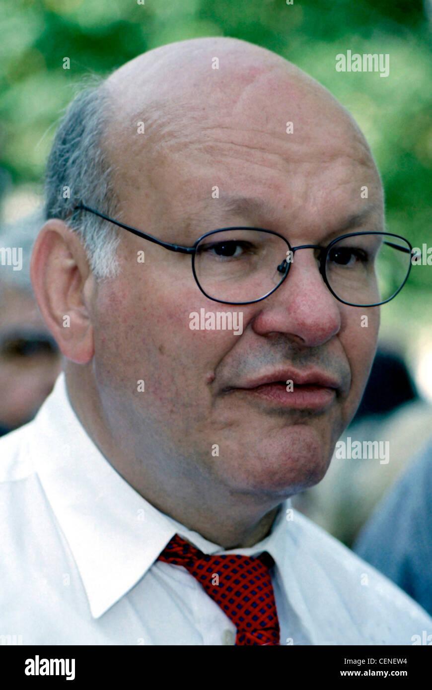 Walter Momper - *21.02.1945: Portrait of the social-democratic politician and Mayor of Berlin 1989 – 1991. - Stock Image
