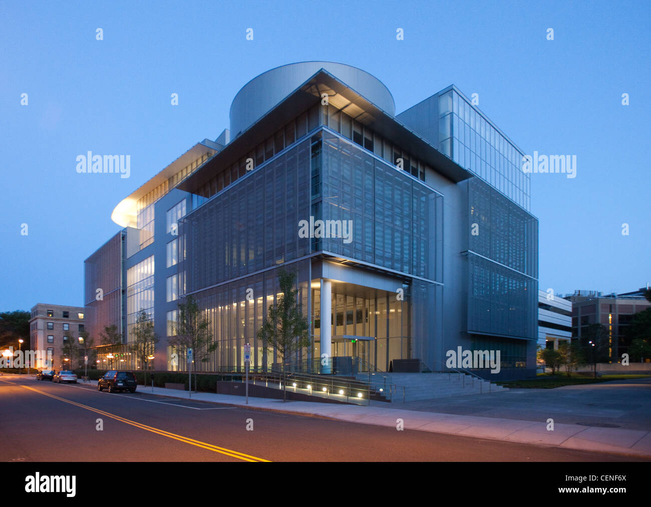 The MIT Media Lab Complex Extension (Building E14 Stock