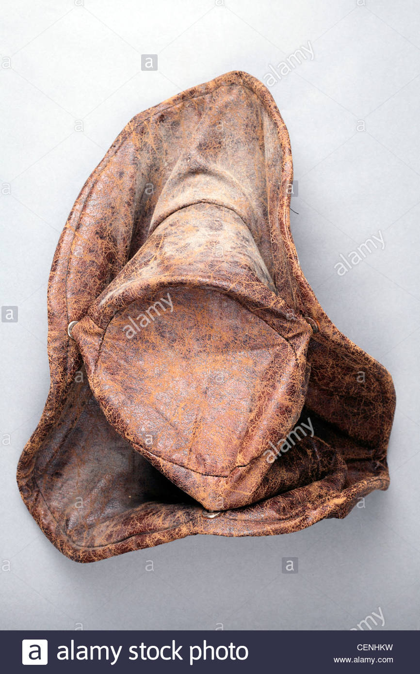 dusty cowboy hat - Stock Image