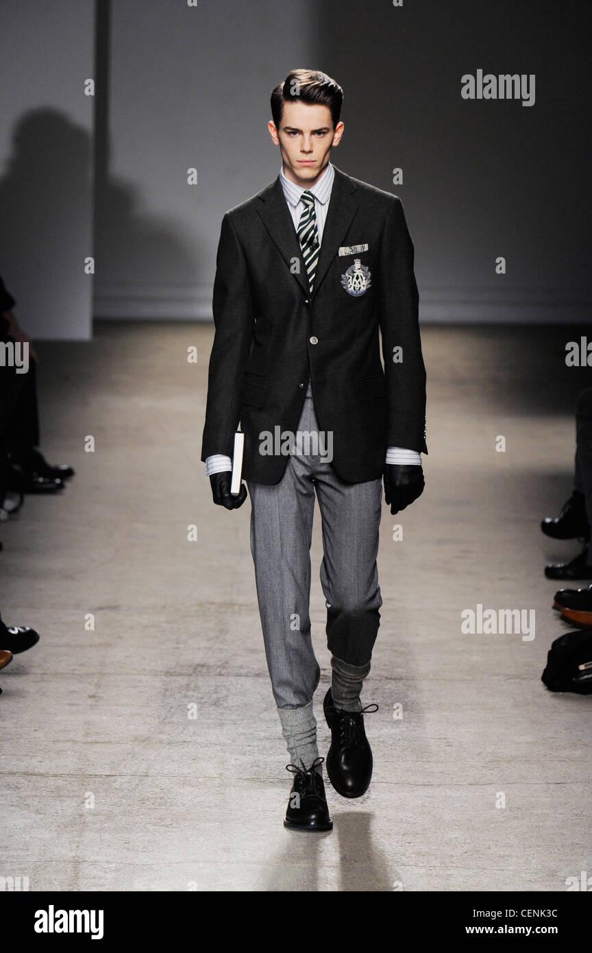 Dunhill Paris Ready To Wear Menswear Autumn Winter Black Jacket