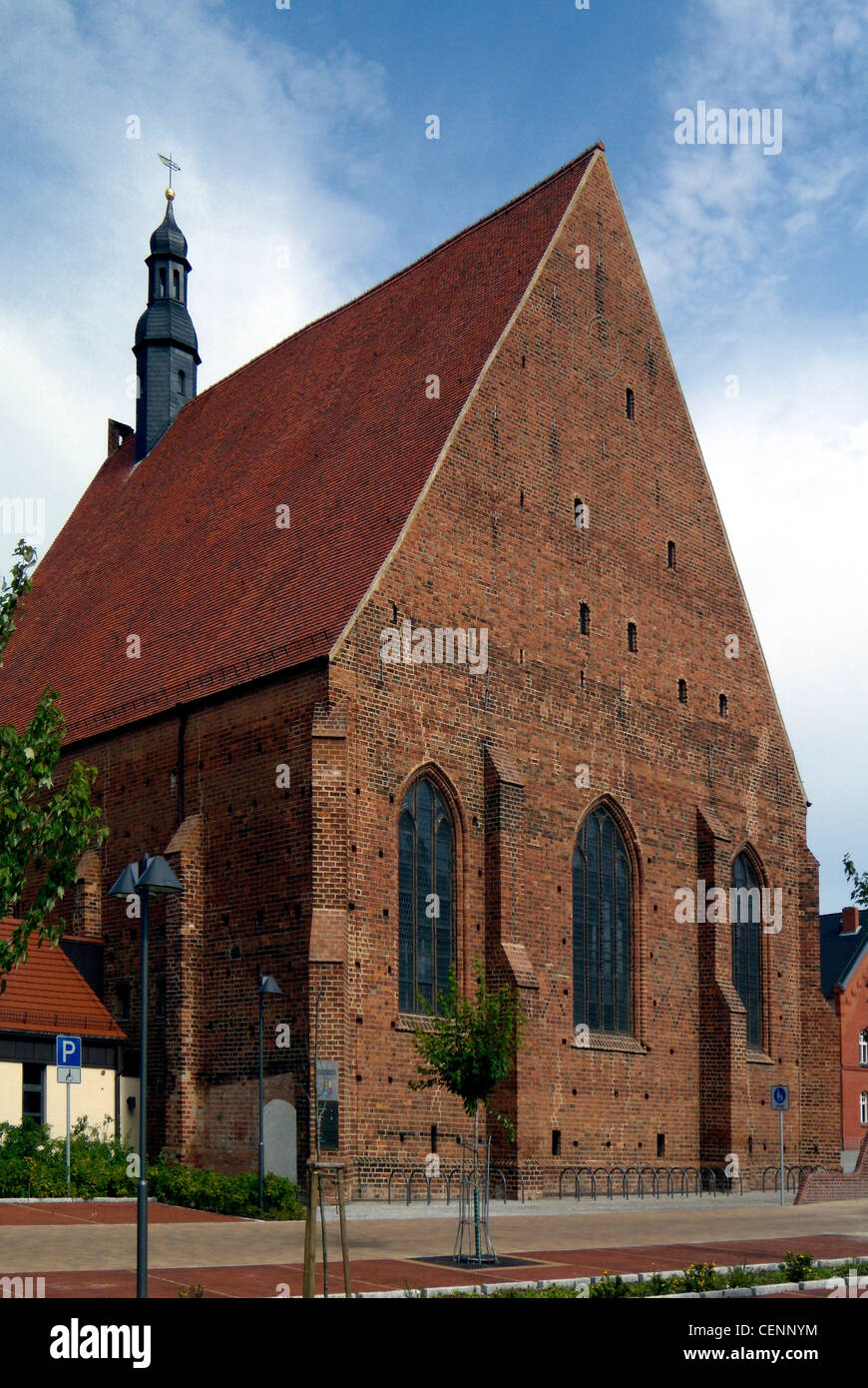Former monastery in the Brandenburg city of Jueterbog. - Stock Image