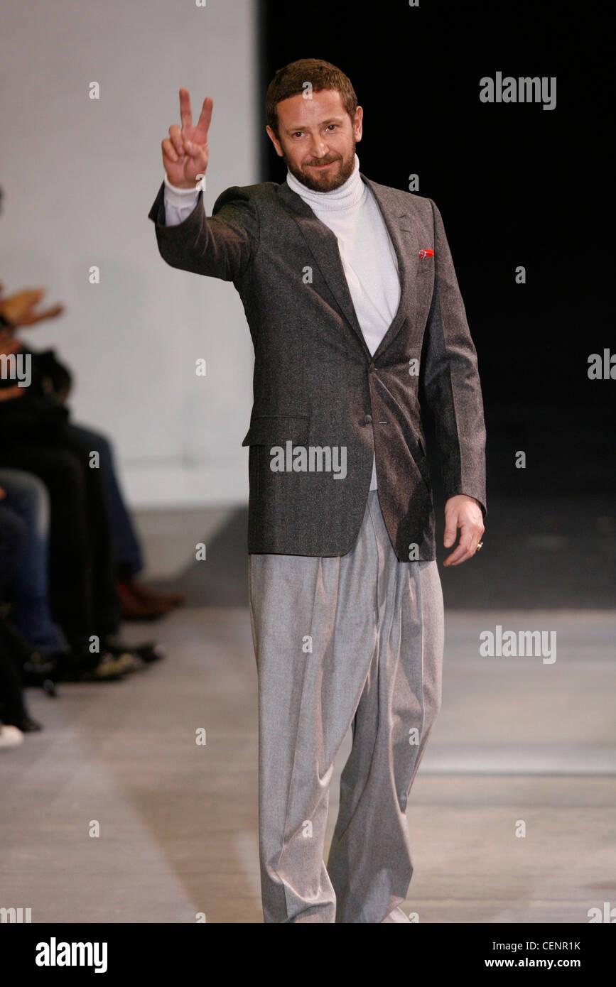 0279ebfa7d7 Yves Saint Laurent Paris Menswear Ready to Wear Autumn Winter Italian  fashion designer YSL creative directStefano