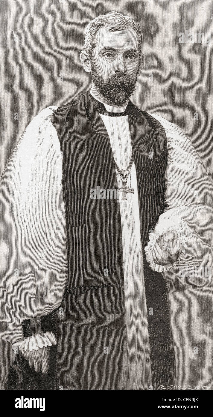 Huyshe Wolcott Yeatman-Biggs, 1845 - 1922. Anglican clergyman, Suffragan Bishop of Southwark, Worcester and Coventry. - Stock Image