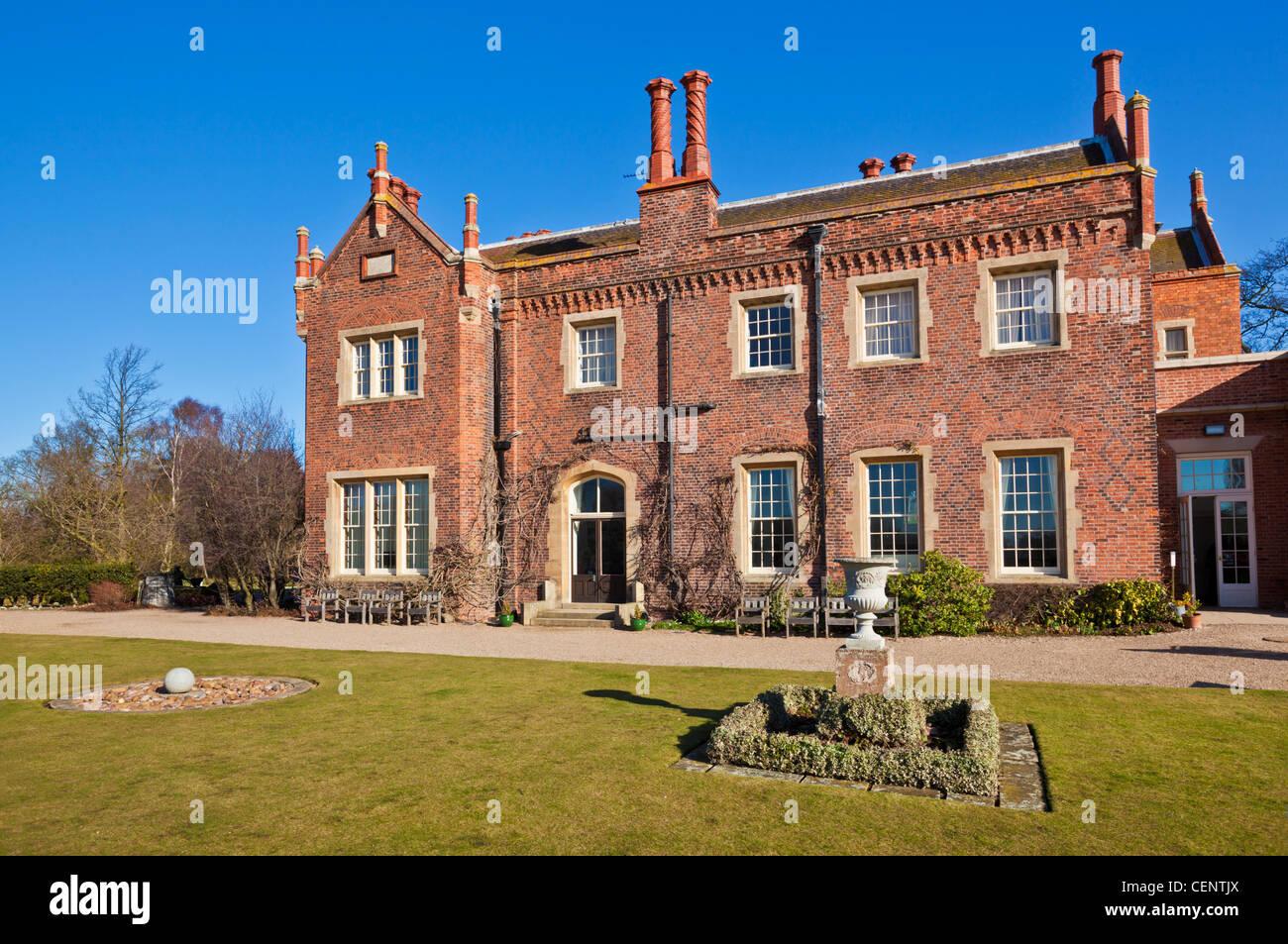 Hodsock Priory near Worksop Nottinghamshire England GB UK EU Europe - Stock Image