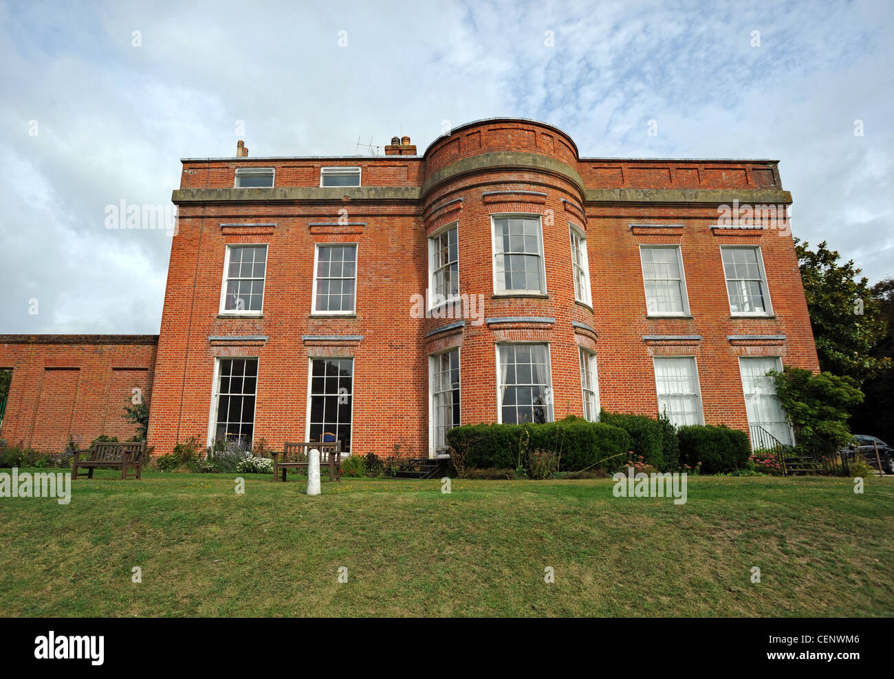 Goring Hall  in Bodium Avenue Goring, former home of the Queen Mother's family and now a BMI private hospital - Stock Image