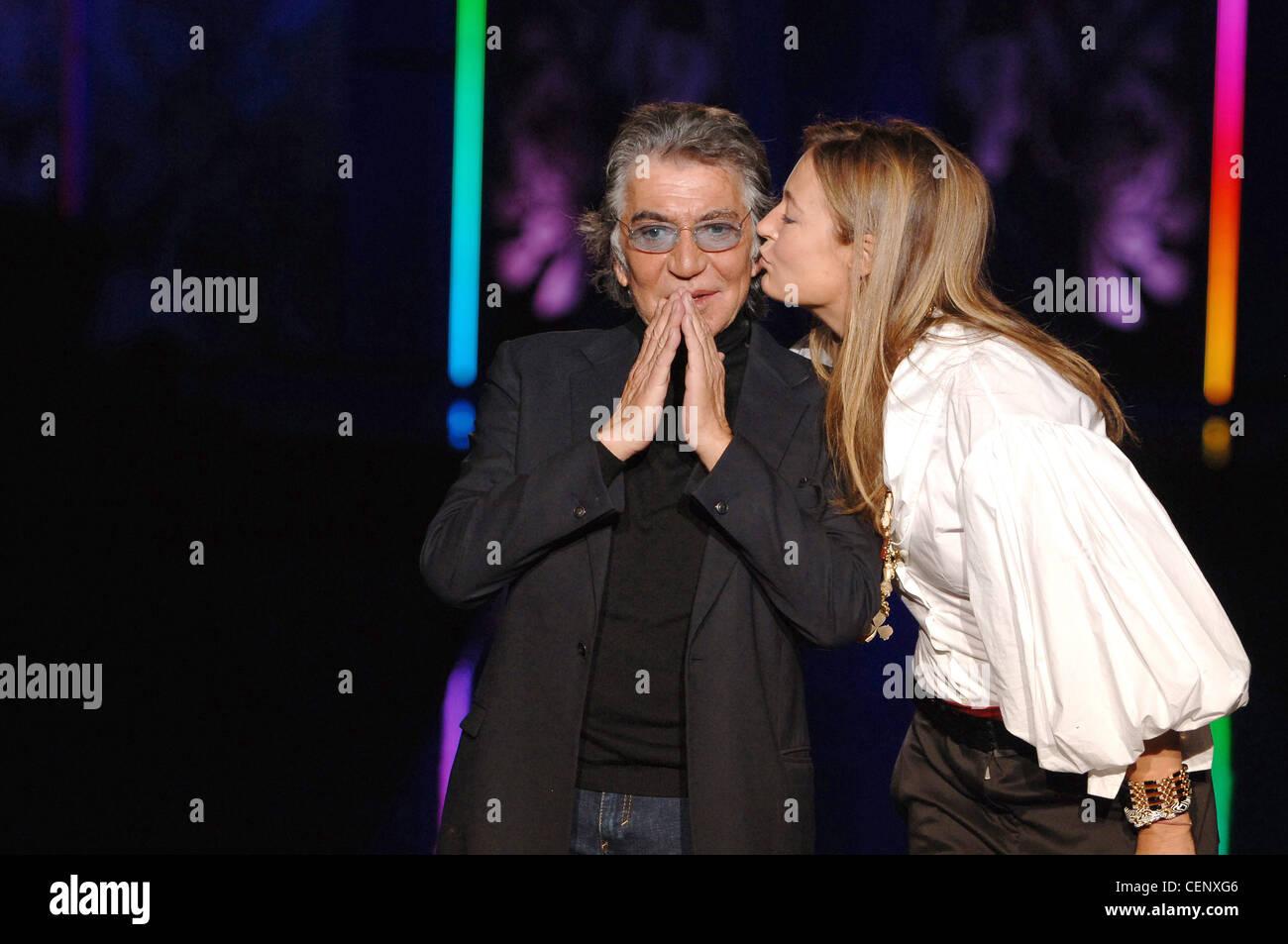 Just Cavalli Ready To Wear Milan A W Italian Fashion Designer Roberto Stock Photo Alamy