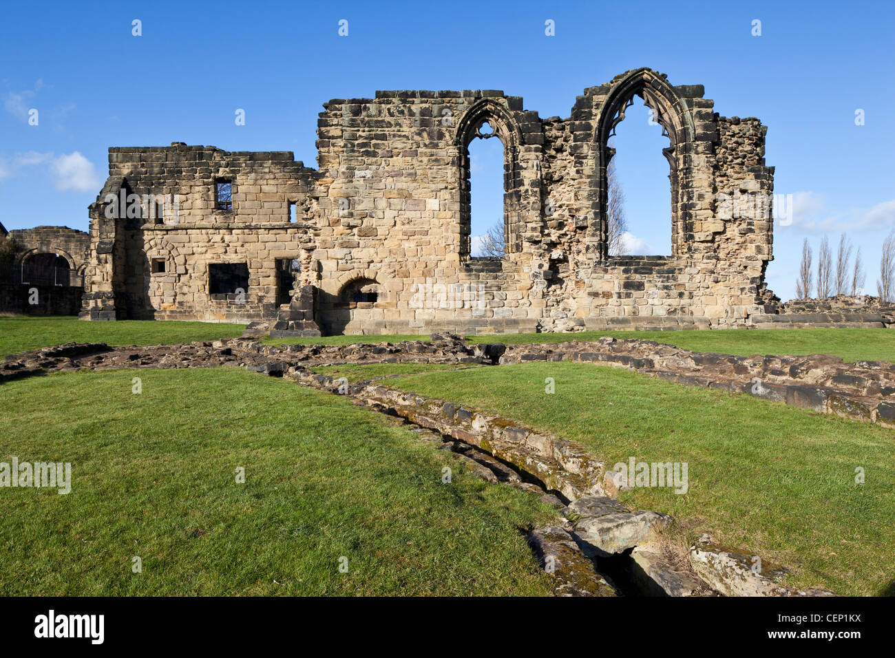 monk bretton priory the ruins of a cluniac monastery at lundwood