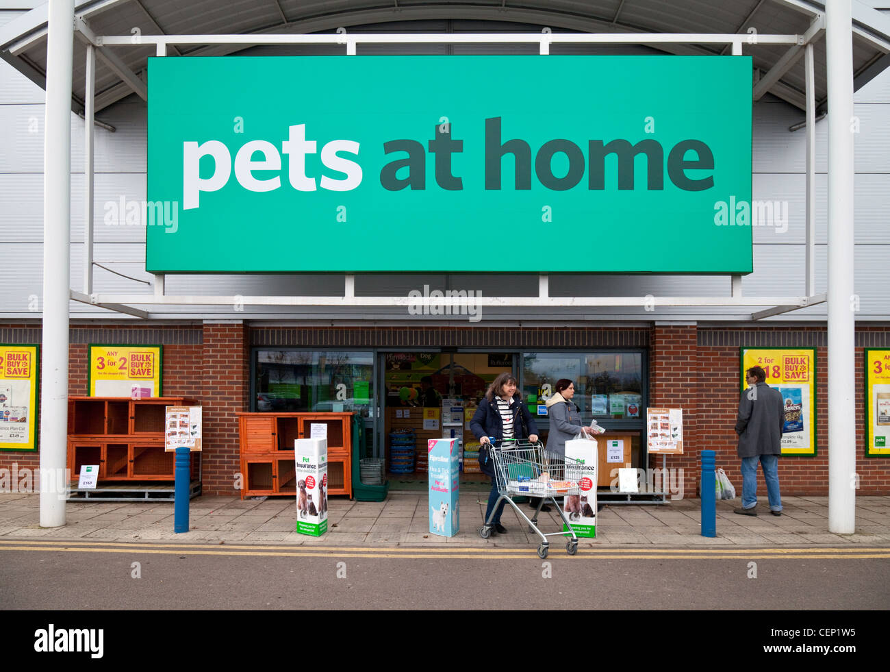 Pets at Home store, Newmarket Suffolk UK - Stock Image