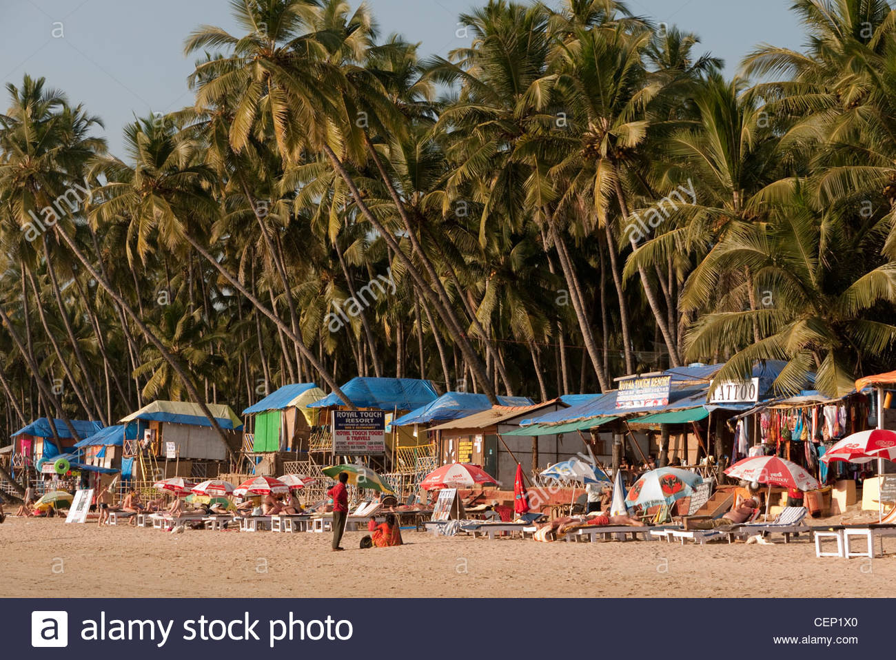Goa Beach Life High Resolution Stock Photography And Images Alamy