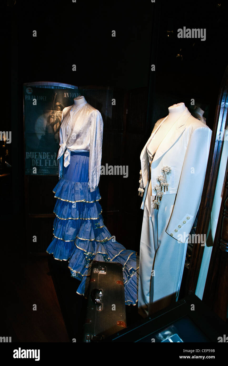 Museo del Baile Flamenco, Museum of Flamenco Dance, Seville, Spain - Stock Image