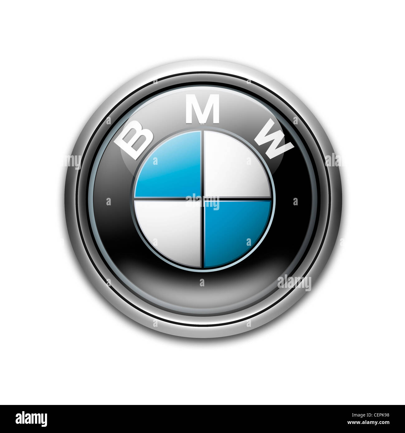 Bmw Logo Symbol Icon Cut Out Stock Images Pictures Alamy