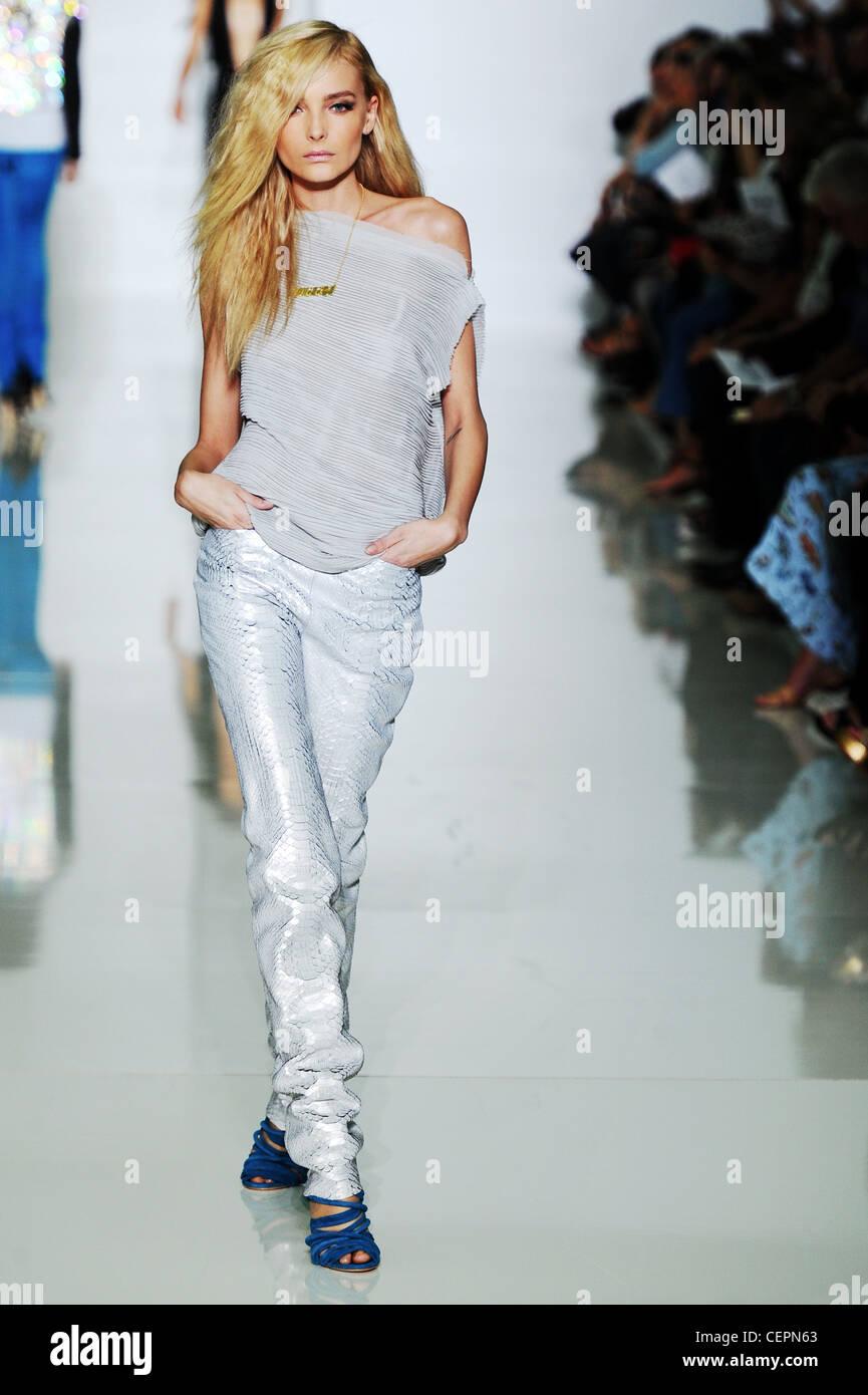 Kanye West Paris Ready to WearSpringSummer 2012 - Stock Image