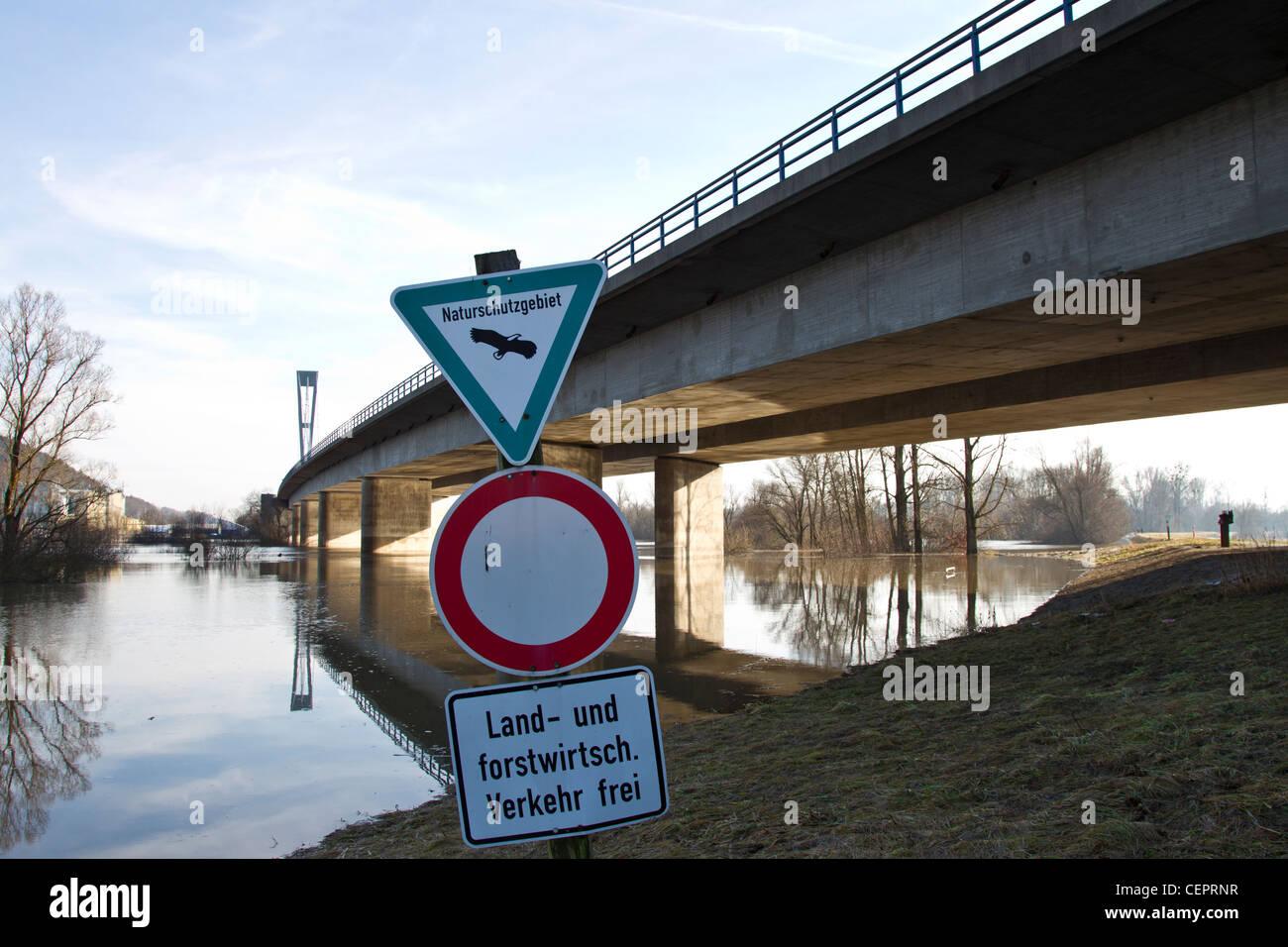 Hochwasser, flood - Stock Image