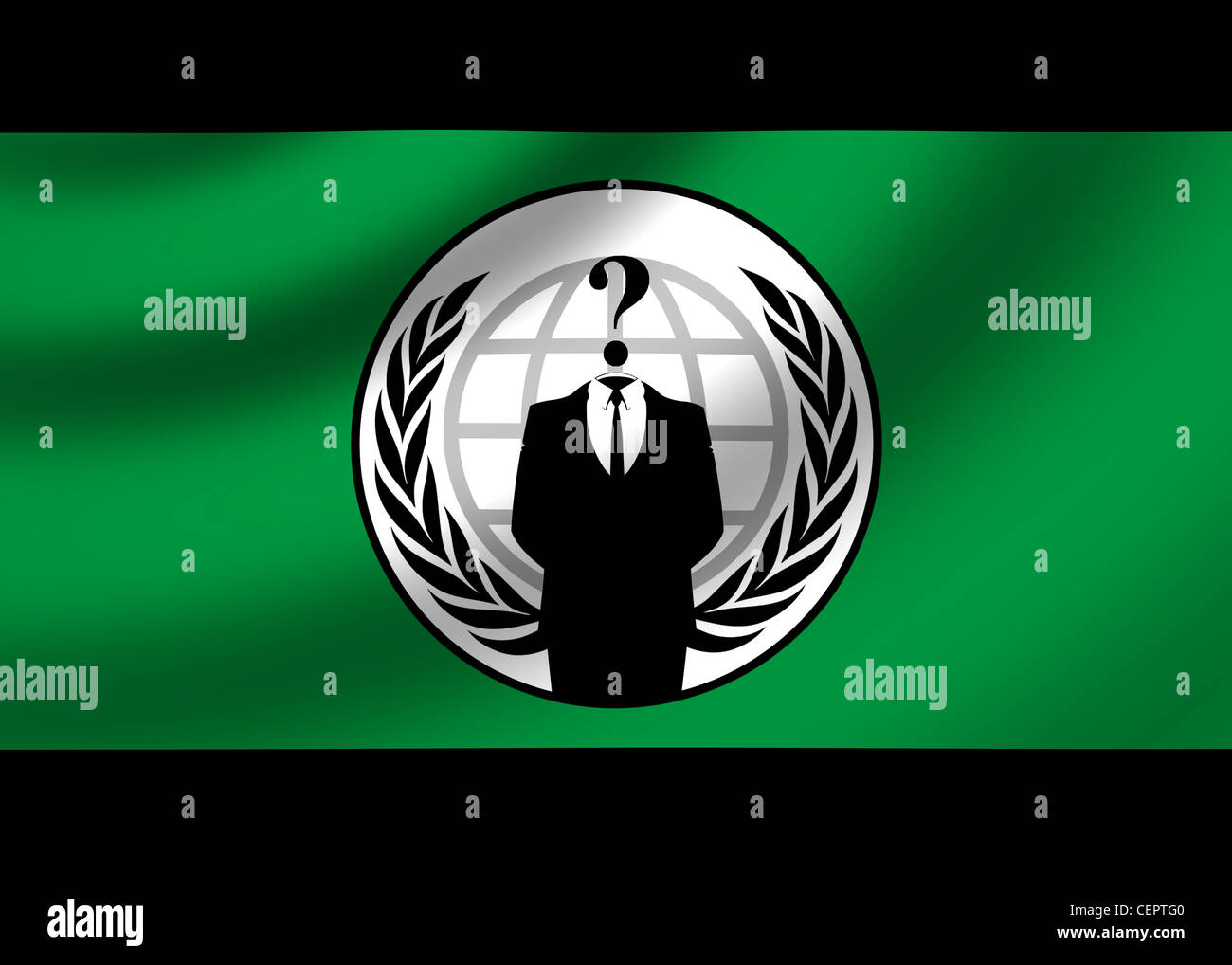 Anonymous group - Stock Image
