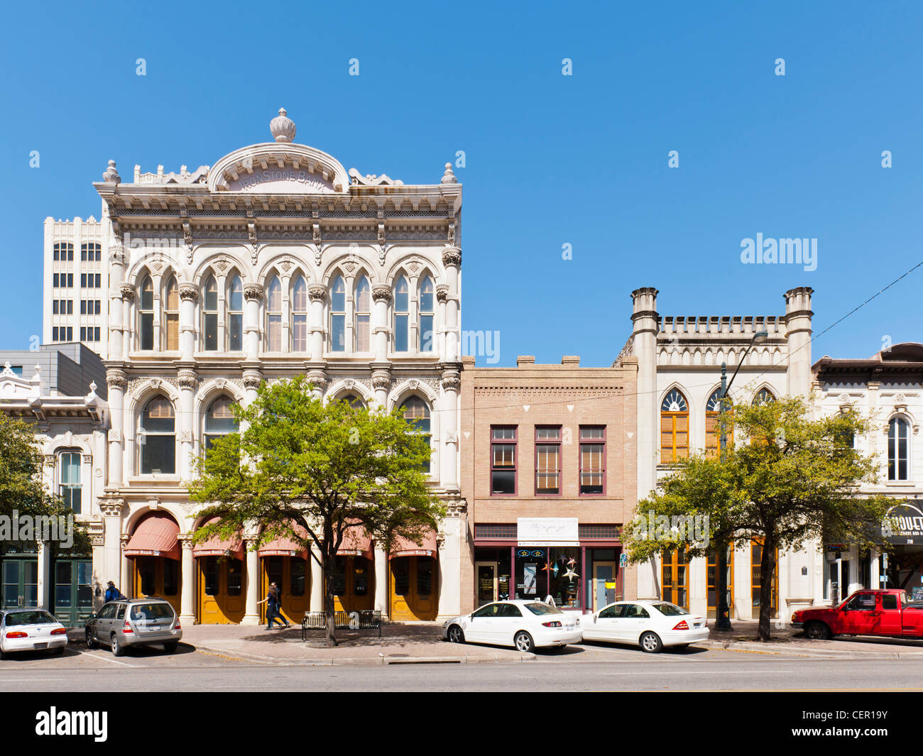Walter Tips Building, Austin, TX - Stock Image